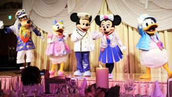 ノアコミュニケーションズクリスマスパーティー2016 ミラコスタ ディズニーキャラクター