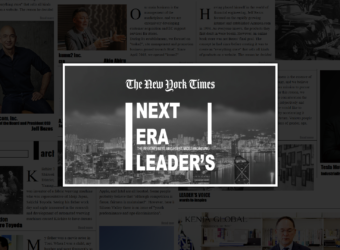 ニューヨークタイムズ「ネクストエラリーダーズ2019」阿比留章雄