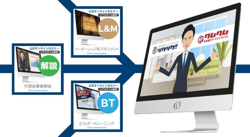 ノアコミュニケーションズ公式オンラインセミナー開催